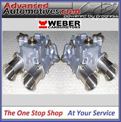 Weber 40 Dcoe Twin Carbs Genuine Pair From Webcon Uk