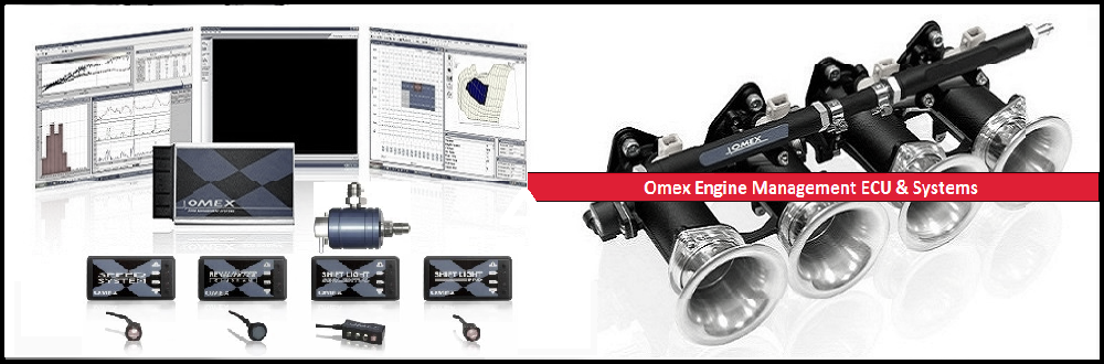 Omex ECU & Engine Management | Advanced Automotive | Throttle Bodies | Revlimiters Lambda Sensors | Air Temp & Water Temp Sensors | Shift Lights | ECU Software