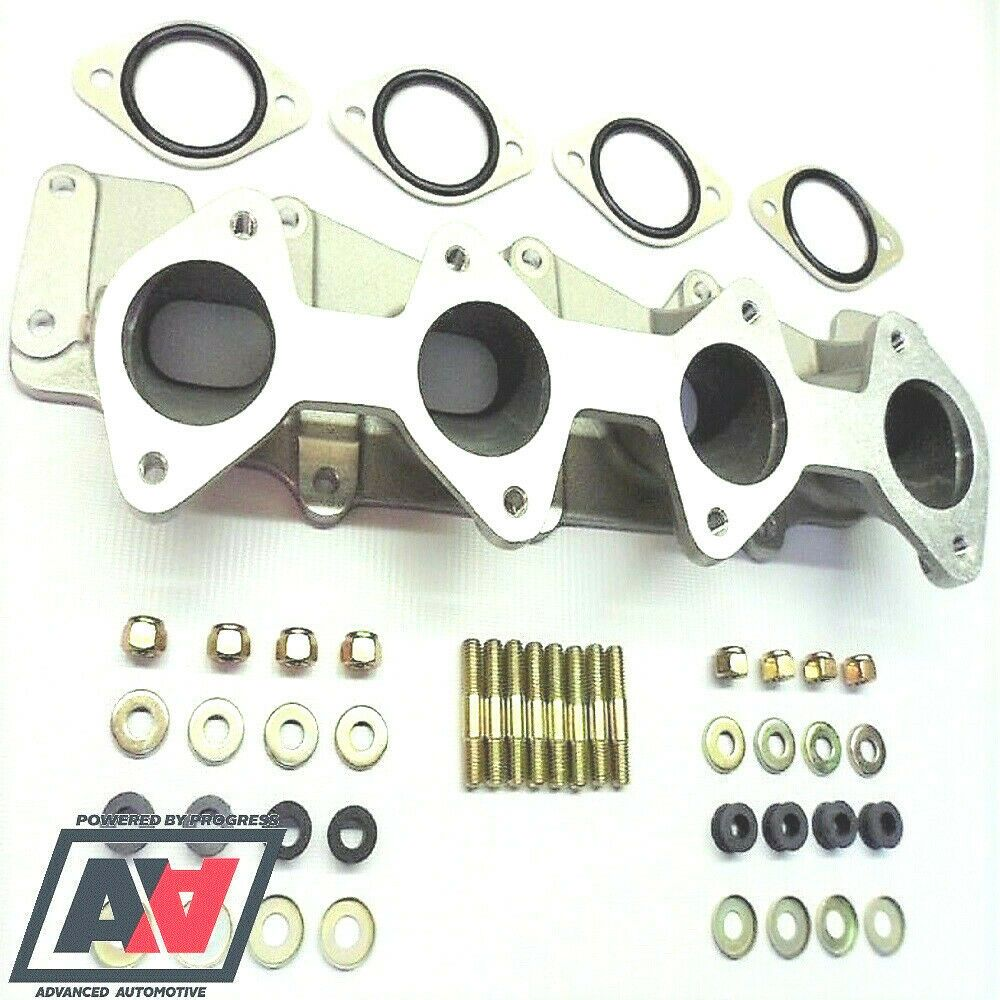 Ford Zetec Inlet Manifold Twin Weber 40 45 DCOE Inc Misab Plates Studs And Nuts | Advanced ...