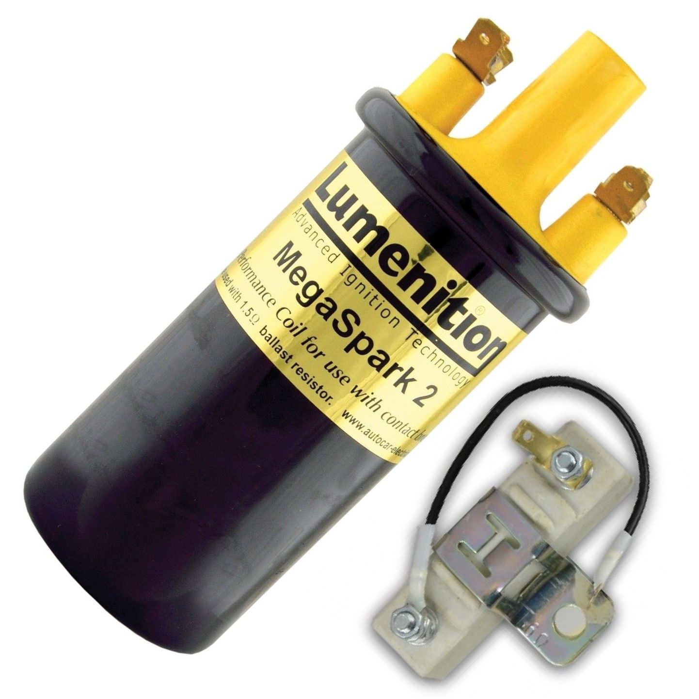 Lumenition Megaspark 2 Ignition Coil With Ballast Resistor | Advanced  Automotive
