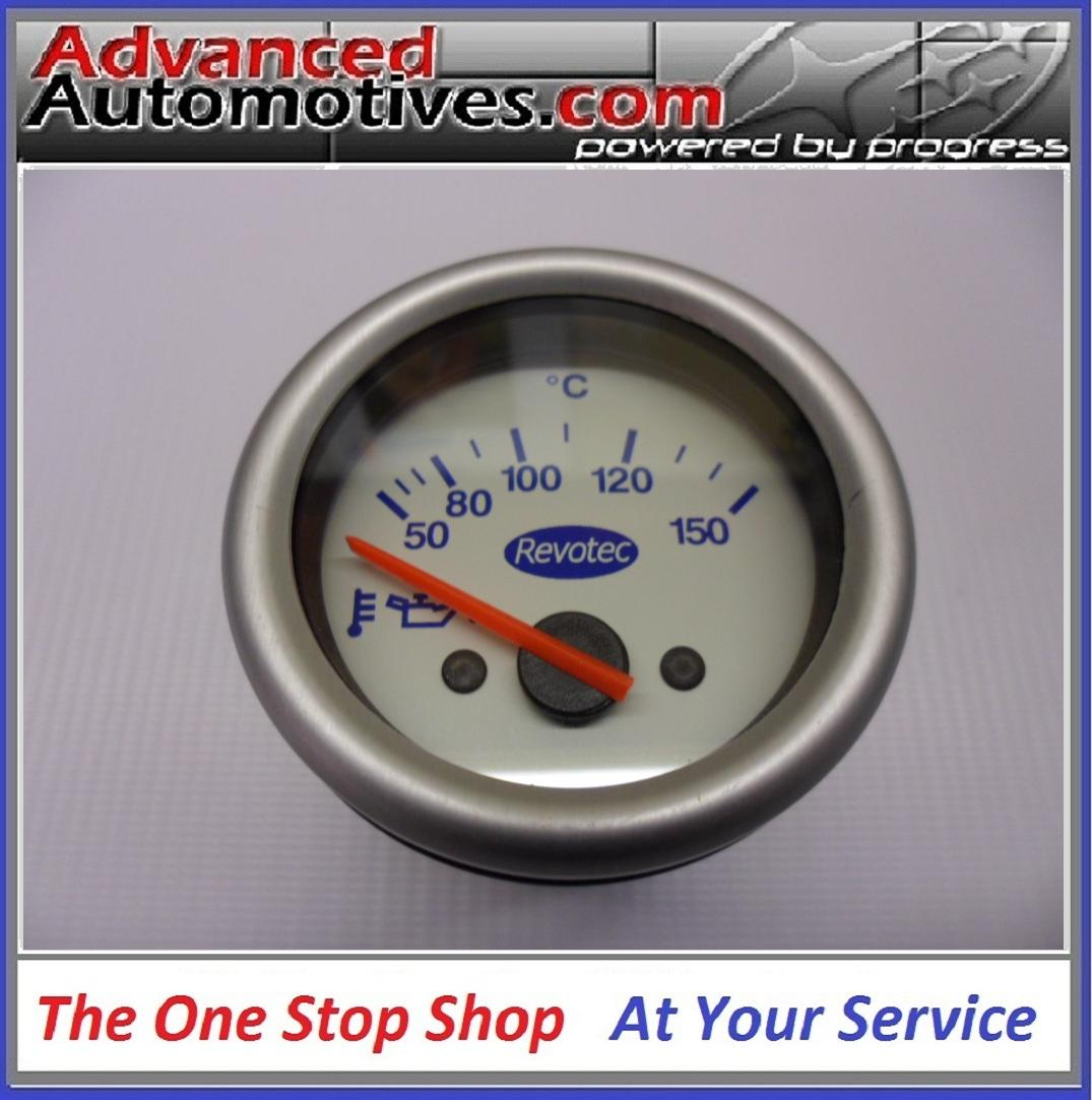 Revotec Electrical Oil Temperature Gauge 50-150C