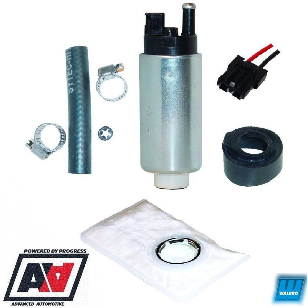 Walbro Uprated 255lph Fuel Pump Kit For Bmw 325i E30 Itp048 Gss340 Filter