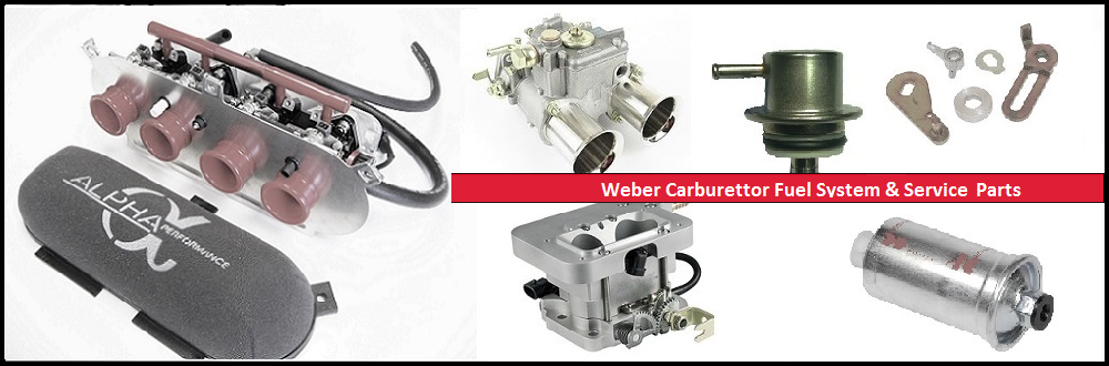 Fuel System Carb & Injection | Advanced Automotive | Weber DCOE | Linkage Kits | Air Filters | Fuel Pumps | Service Kits | Mesh Filters | Carburettor Jets | VW & Ford Inlet Manifolds